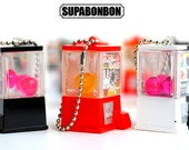 1 pcs / Decoden / PVC / Lovely / Keepou / Bear / Animal / Box / Figurine / Miniature / Capsule Toy / 4CM / JP544