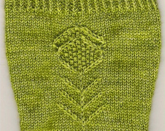 Thistle Socks Pattern