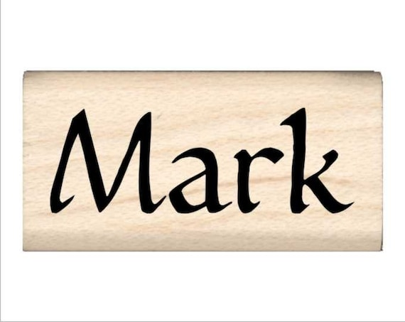 Mark - Name Rubber Stamp for Kids from StampsbyImpression ...
