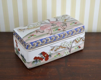 Vintage Chinoiserie Box