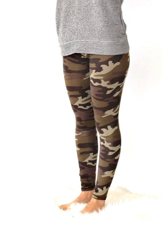 Brilliant  Camo Sports Yoga Running Leggings Jeggings Workout Gym Fitness Pants