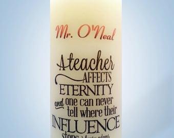 Teachers Candles