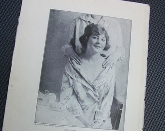 1919 Black and White Photo Illustrations from the Domestic Health Society, Inc. - 5 Pages