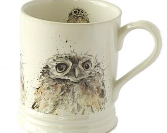 Owl Stoneware Mug
