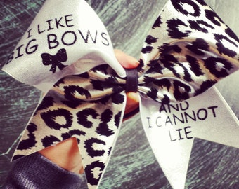 3 inch cheer bow