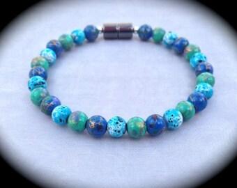 "Colorful ""Catalina"" Magnetic Bracelet, Anklet or Necklace !"