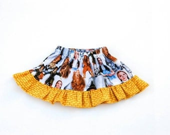 Wizard of Oz skirt - sizes 6 months to size 10