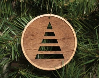 Wooden Christmas Ornament - Unique Christmas Ornaments