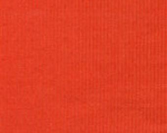 HALF YARD Pumpkin Corduroy Fabric Finders Cotton Fabric