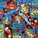 Supergirl Superhero Fabric  - UK seller