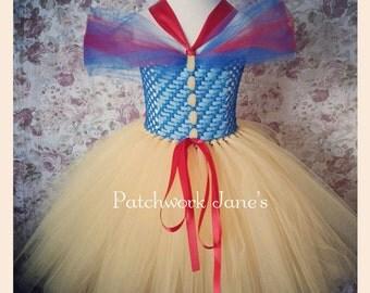 Snow White Princess Tutu Dress - Custom