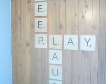 Free shipping Giant Scrabble letters (13 letters)