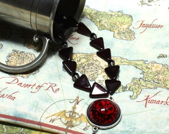 Pirate Ruby Wine Necklace
