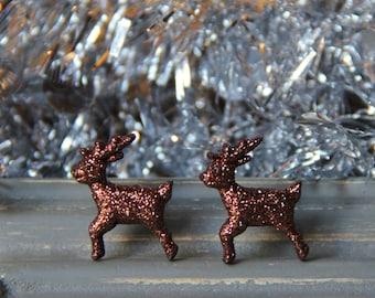 Sparkle Reindeer Studs!