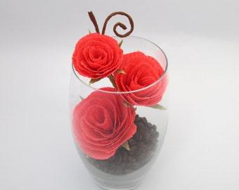 Flower Arrangement, Peper Flowers, Wedding Centerpiece, Floral Arrangement, Home Decor, Coral Roses, Table Paper Floral Centerpieces