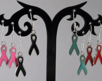 Ribbon Earrings for your Causes