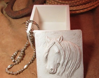 Wild Horse keepsake box | trinket box
