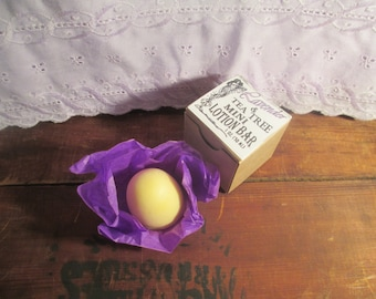 Niffers All Natural Lavender and Tea Tree Lotion Bar -1 oz Mini Bar