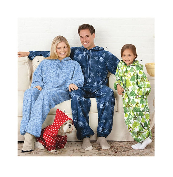 Pattern Adults Adult Onesie Pattern Childs