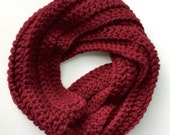 Crochet Twisted Cowl (Ready to Ship)
