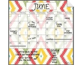 Wall Decal Calendar, Wall Calendar, Decal Calendar
