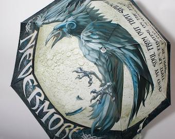 The Raven Book Umbrella