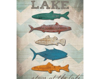 MA1033 - Fish and Chevron - What happens at the Lake stays at the lake