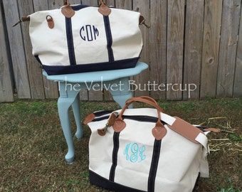 Monogrammed Weekender - Monogrammed Duffle Bag - Monogrammed Overnight Bag - Monogrammed Carry-On Bag - Duffle Bag