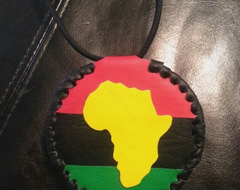 AFRICAN MEDALLION 2 sided