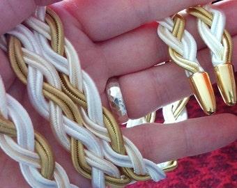 CUSTOM Handbraided Handfasting Cord - you choose the colours!