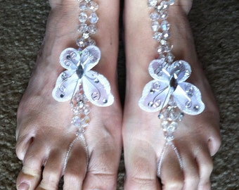TOE JAMMS, Butterfly foot Jewelry in an Array of Colors