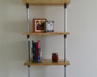Industrial Shelves Available In Custom Sizes, Rustic Decor, Rustic Shelves, Rustic Furniture, Industrial Decor, Industrial Furniture