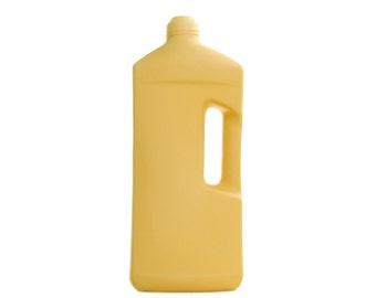 Porcelain Bottle Vase 3 Yellow
