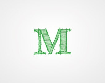 Custom logo design in Initials style