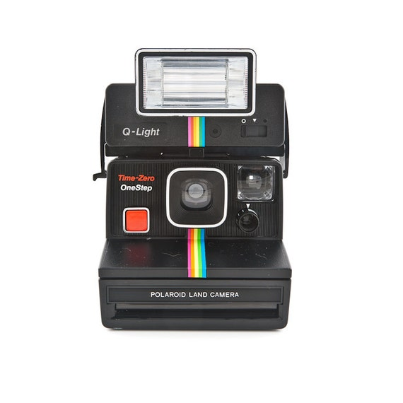 Red Light Camera Check: Polaroid Time-Zero OneStep Land Camera With By ShutterLightOC