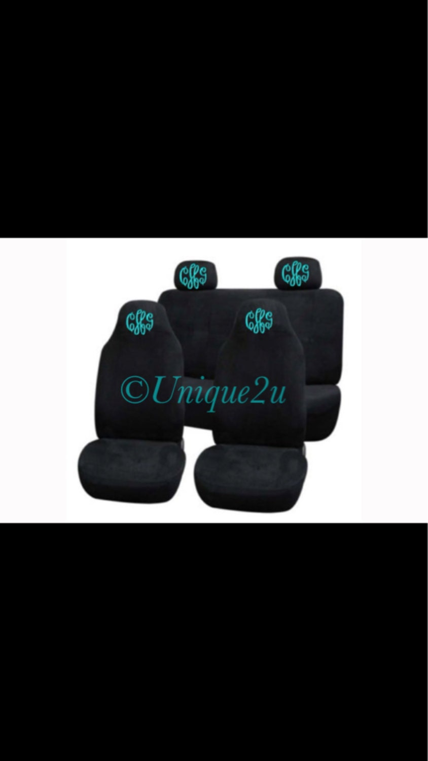 Monogram Seat Covers For Cars | Baby Gear & Equipment