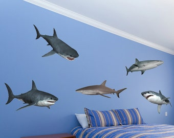 Shark U2026 Shark Wall Decals Part 15