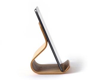 iPad Stand Birch Bent Plywood | Tablet Stand | iPad Holder | iPad Pro Stand | iPad Stand Wood | iPad Dock | iPad Holder | Gift for Mentor