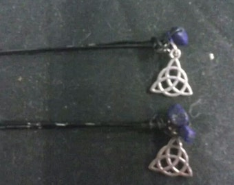 Celtic knot hair pin
