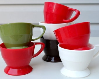 Vintage Plastic Solo Cup Holders