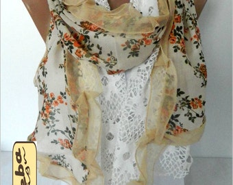 Fashion Scarf- Trend Scarf- Shawls- Scarves - Fashion accessories- for her- christmas gift