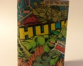 Hulk Comic Book Flask