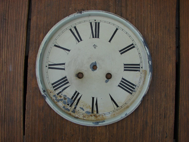 Antique Clock Parts Wall Clock Psh Junghans Dial Clock