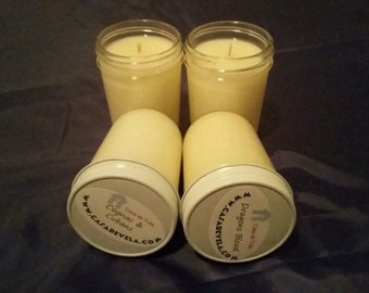 8 oz Jelly Jar Soy Candles