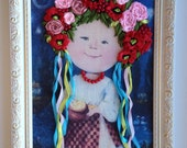 Without frame, only for Giuli Coss, little Ukrainian girl