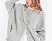 Wool jacket - wool sweater - warm winter sweater - warm wear - jacket spring coat - asymmetrical coat - jacket coat - coat jacket wool coat
