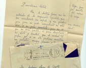 3 Antique handwritten letters with envelopes from SPAIN - M42