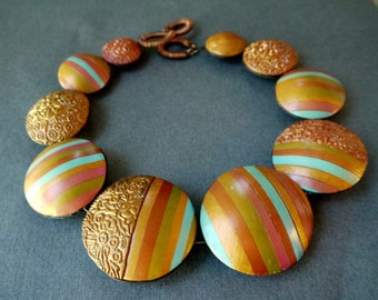 """Necklace """"Sea and sand"""""""