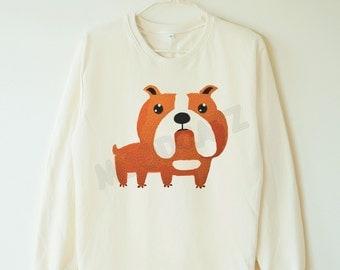 french bulldog sweater etsy de