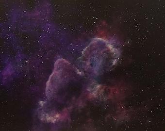 Space Art Painting Original